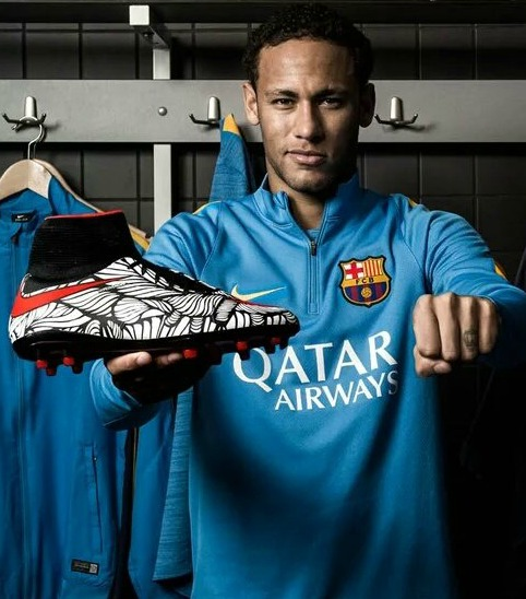 Neymar Ousadia Alegria Boots 2016