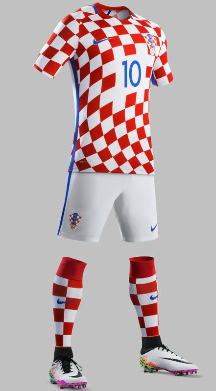 New Croatia Kit Euro 2016
