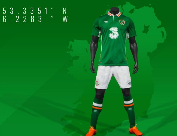 New Ireland Euro 2016 Jersey