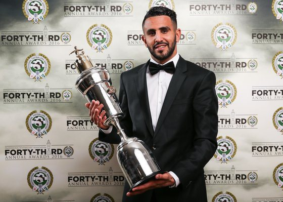 PFA Player of the Year Riyad Mahrez
