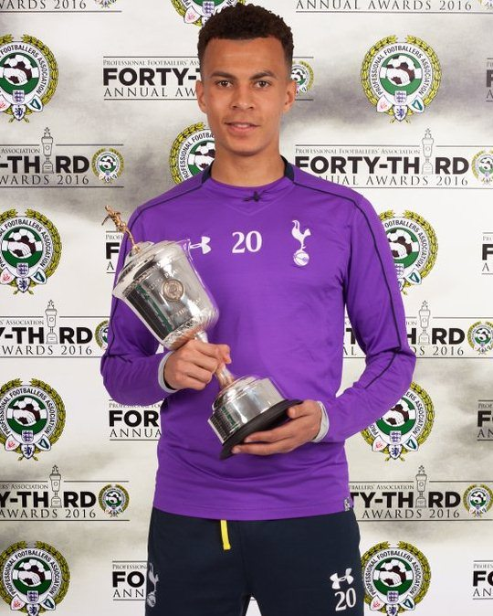 PFA Young Player of the Year Dele Alli