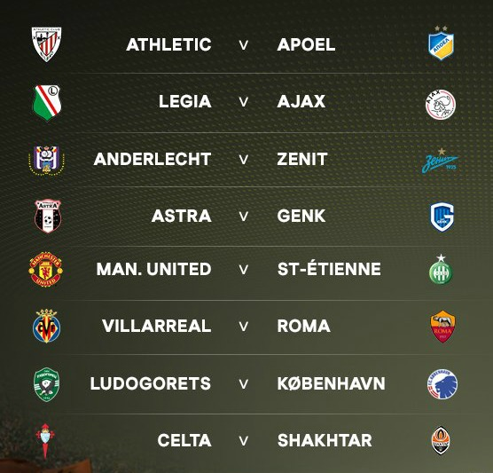 europa-league-ko-draw-2016-17