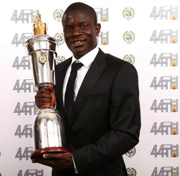 PFA Player of the Year N'Golo Kante 2017