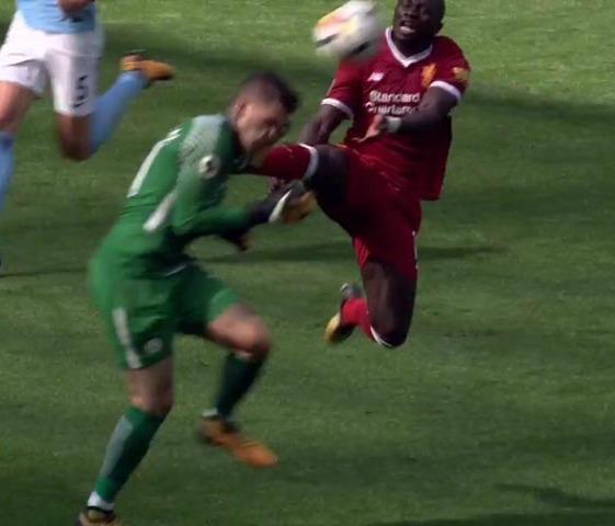 Mane Kicks Ederson