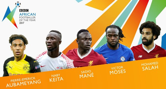 African Footballer of the Year 2017 Nominees