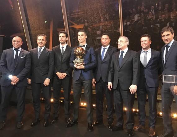 Ronaldo Ballon D'Or 2017