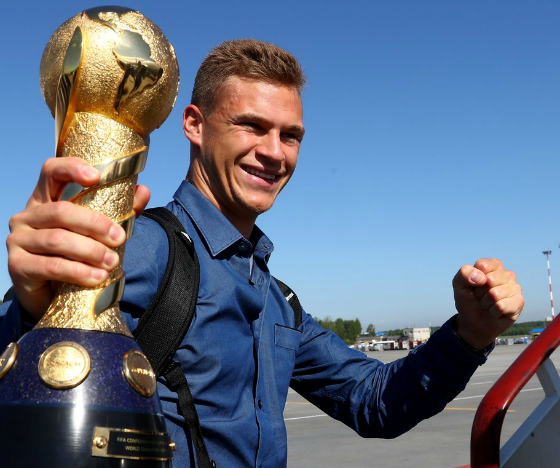 Kimmich German Player of the Year
