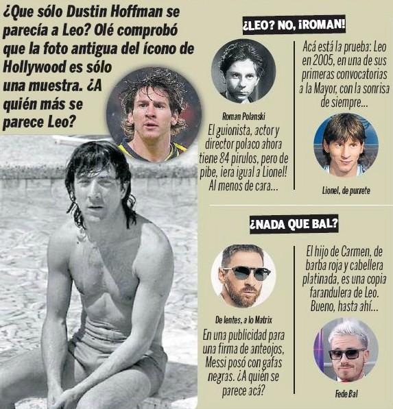 Dustin Hoffmann Messi