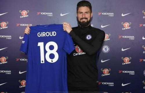 Giroud 18 Chelsea