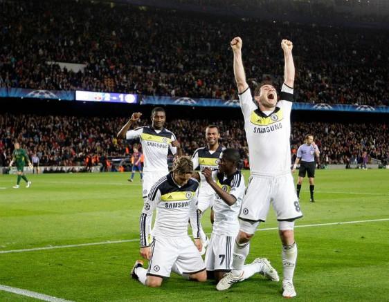 Chelsea 2012 Barca