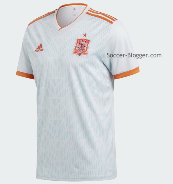 New Spain Away Kit 2018 World Cup