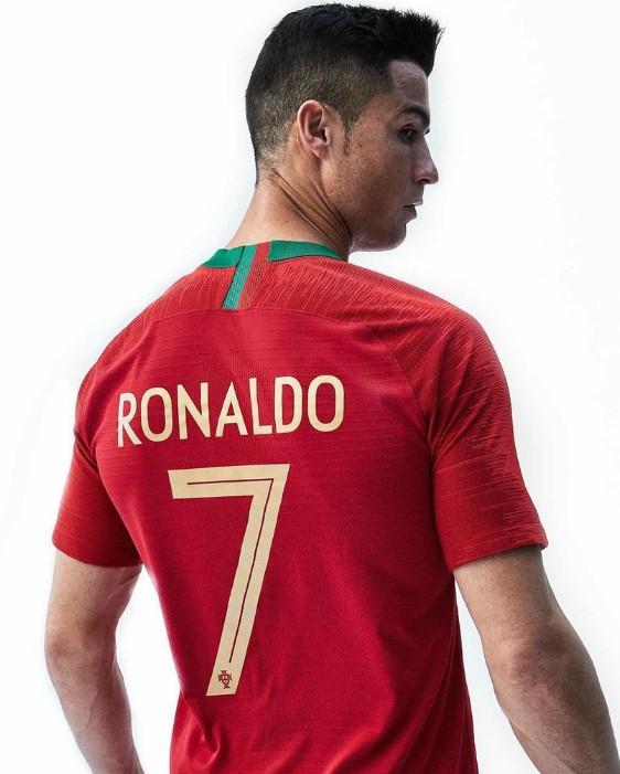 new portugal world cup kit 2018 cristiano ronaldo models new 2018 19 home shirt soccer blog. Black Bedroom Furniture Sets. Home Design Ideas