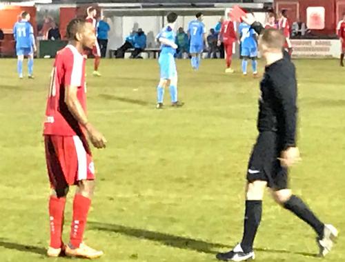 Sanchez Watt Red Card Hemel Hempstead