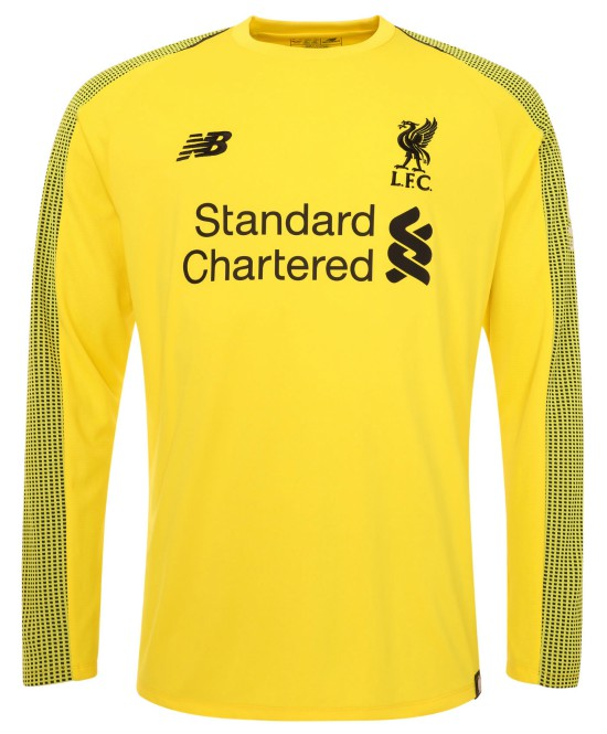 LFC New Goalkeeper Kit 18 19