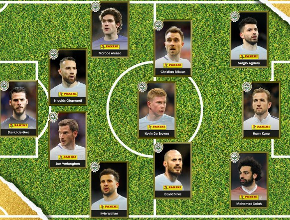 PFA Premier League Team of the Year 2018