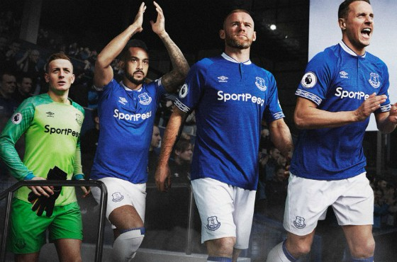 Everton New Kit 18 19