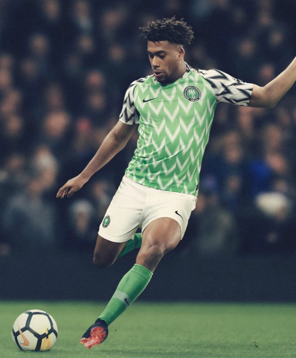 New Super Eagles Jersey World Cup 2018