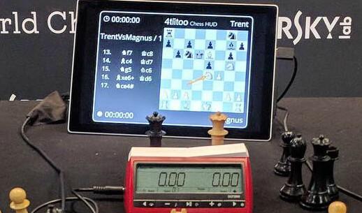 Alexander Arnold v Carlsen