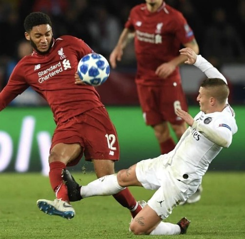 Verratti tackle on Gomez