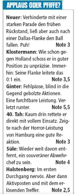 germany player ratings vs ni 2019
