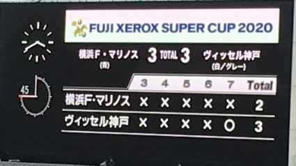Japanese Super Cup 2020 Missed Penalties 9 in a Row