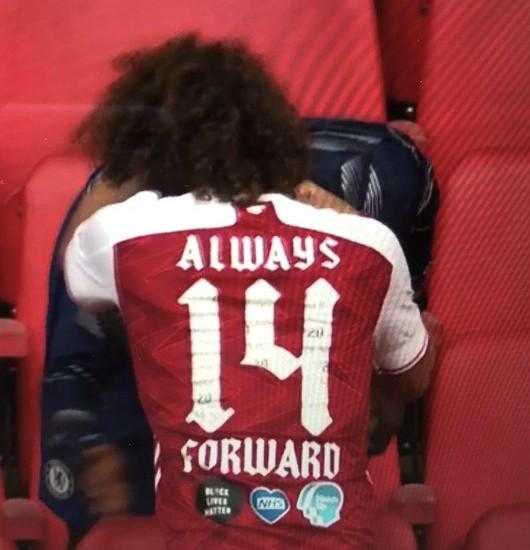 Always Forward 14 Arsenal Shirt