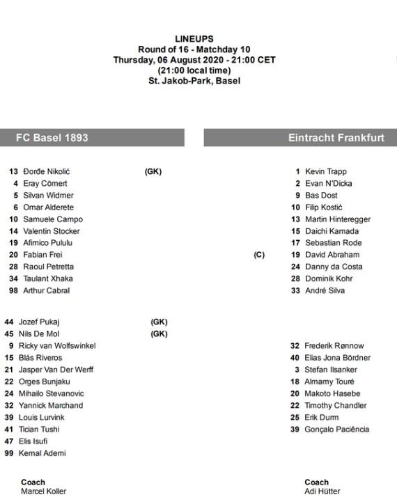 Basel Eintracht