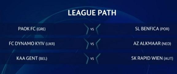 UCL Third Qualifying Round Draw 2020