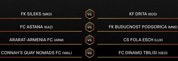 UEL 2nd Qualifying Round Champions Path 20-21