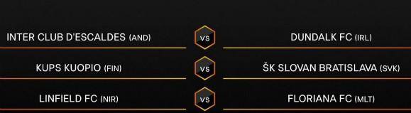 UEL Second Qualifying Round 20-21