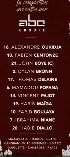 Metz starting lineup vs PSG 2020