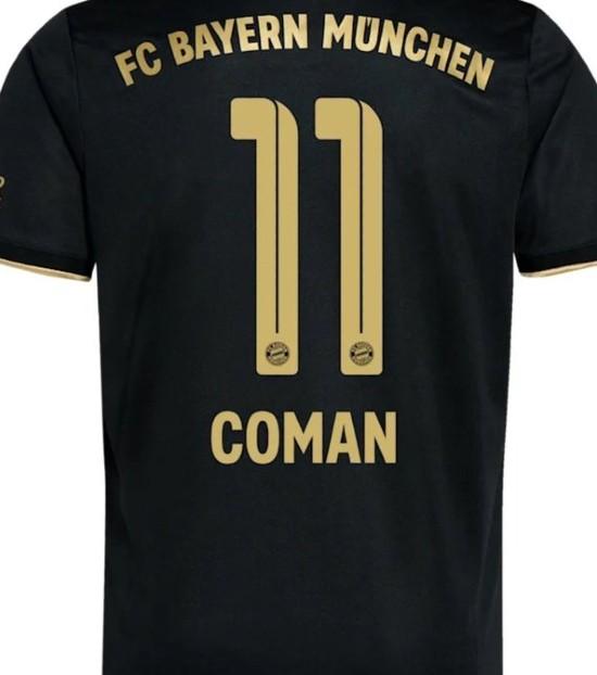Kingsley Coman Shirt Number Change 11