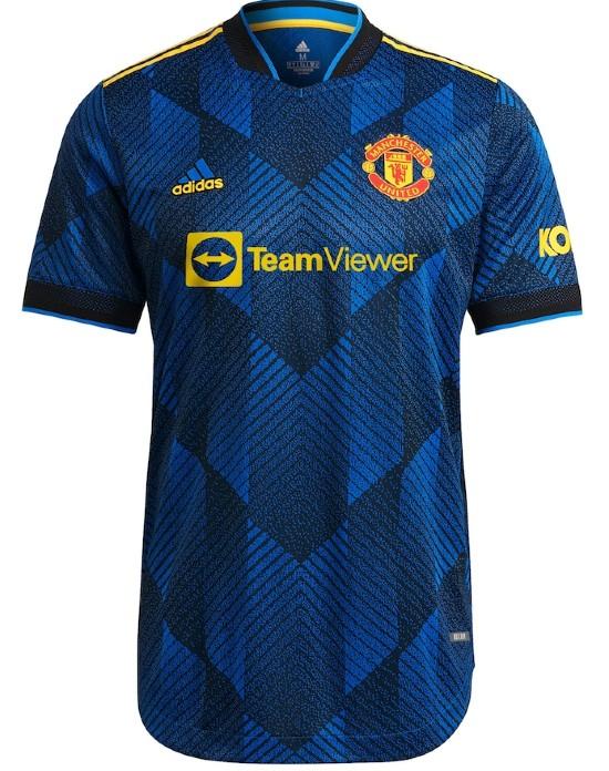 Blue Man U Third Shirt 2021 2022