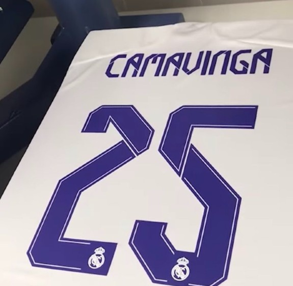 Camavinga 25 Real Madrid
