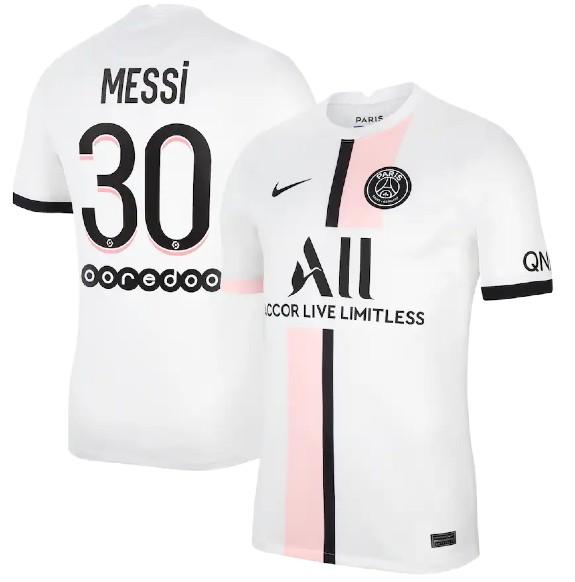 Messi 30 PSG 2021